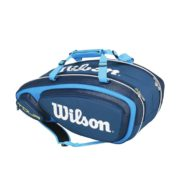 Wilson Tour V9 Pack Blue front