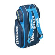 Wilson Tour V9 Pack Blue staand