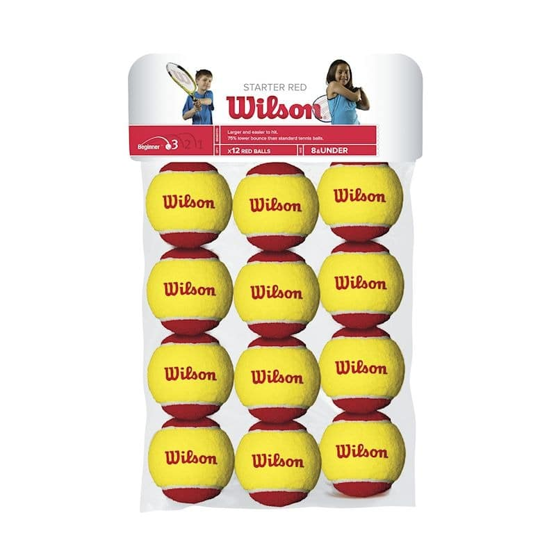 Wilson Stage 3 Rood 12 Pack