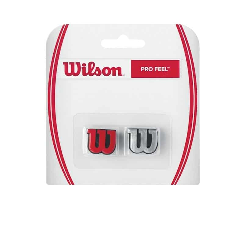 Wilson Pro Feel Red/Silver
