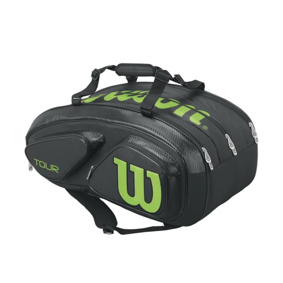 Wilson Tour V 15 Pack BK/LI
