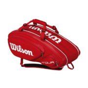 Wilson Tour V9 Pack Red