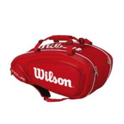 Wilson Tour V9 Pack Red