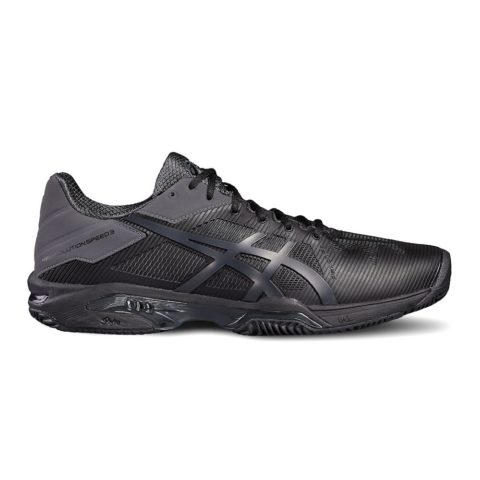 Asics Gel-Solution Speed 3 Clay Black heren