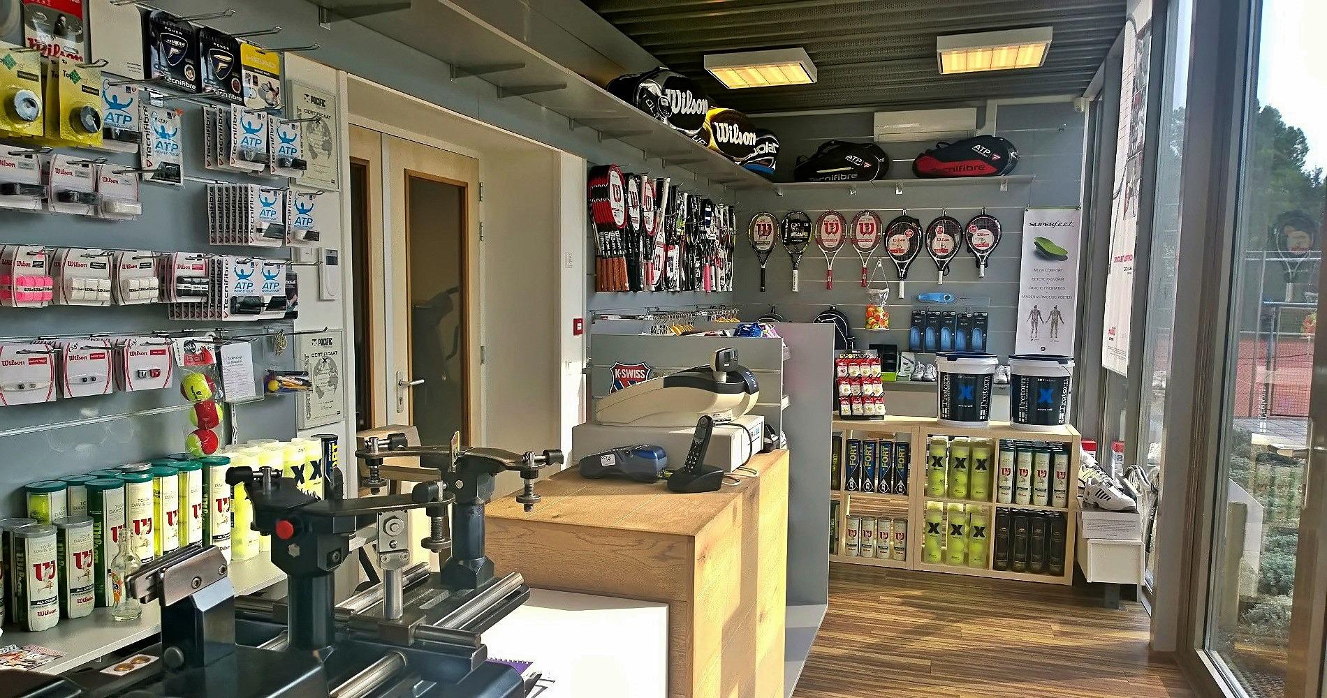 Racketshop Den Haag - Specialist in tennisartikelen - www.tennisshop-denhaag.nl