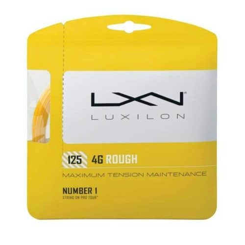 Luxilon 4G Rough 125 set - Racketshop de Bataaf