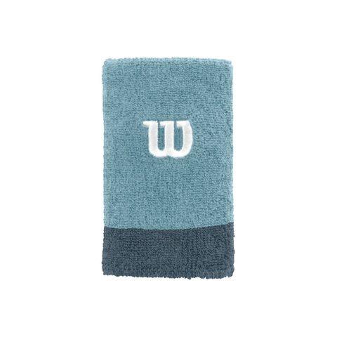Wilson Extra Wide Wristband blauw