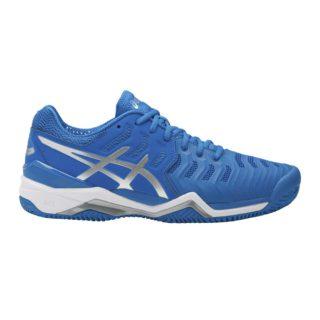 Asics Gel-Resolution 7 Clay blue/silver/white - Racketshop de Bataaf