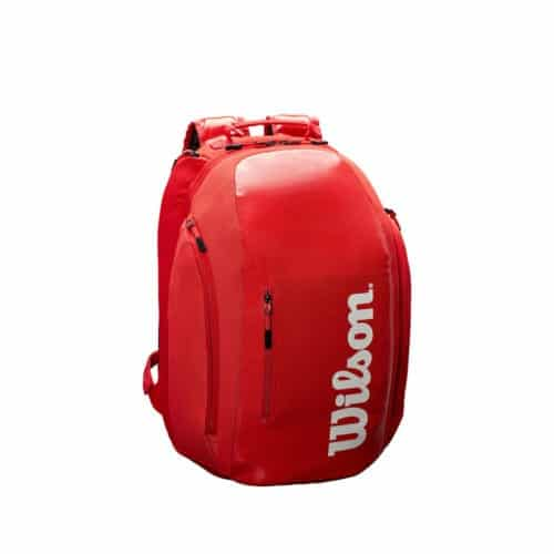 Wilson Super Tour Backpack Red - Racketshop de Bataaf