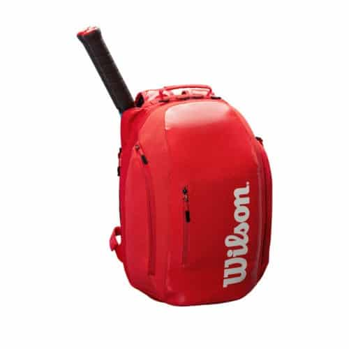 Wilson Super Tour Packpack Red - Racketshop de Bataaf