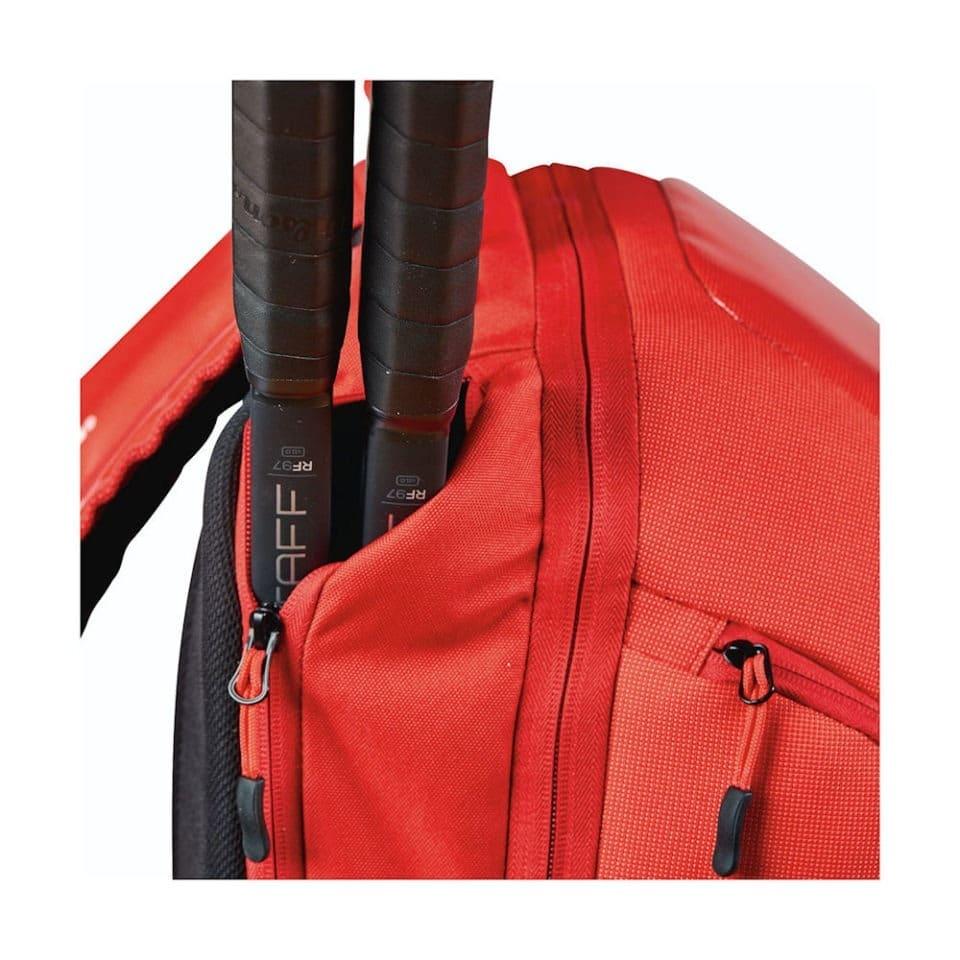 Wilson Super Tour Backpack Red - Racketshop de Bataaf