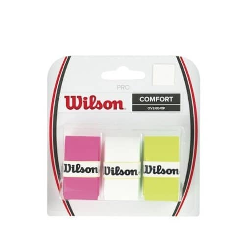 Wilson Power Overgrip Assorti - Racketshop de Bataaf