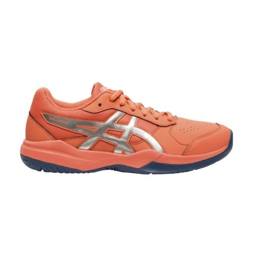 Asics Gel-Game 7 GS papaya zilver - Racketshop de Bataaf