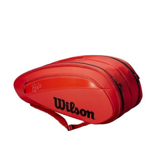 Wilson Federer DNA 12 Pack Infrared - Racketshop de Bataaf