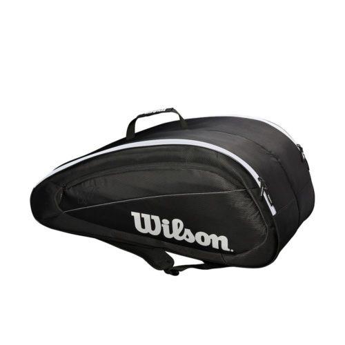 Wilson Federer Team 12 Pack BKWH - Racketshop de Bataaf