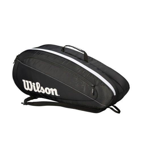 Wilson Federer Team 6 Pack BKWH -Racketshop de Bataaf