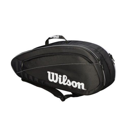 Wilson Federer Team 6 Pack BKWH - Racketshop de Bataaf