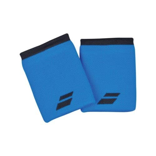 Babolat Logo Jumbo Wristband Blue - Racketshop de Bataaf