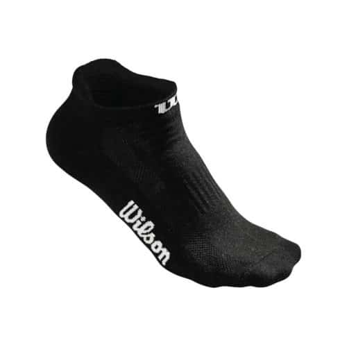 Wilson No Show Sock Black - Racketshop de Bataaf