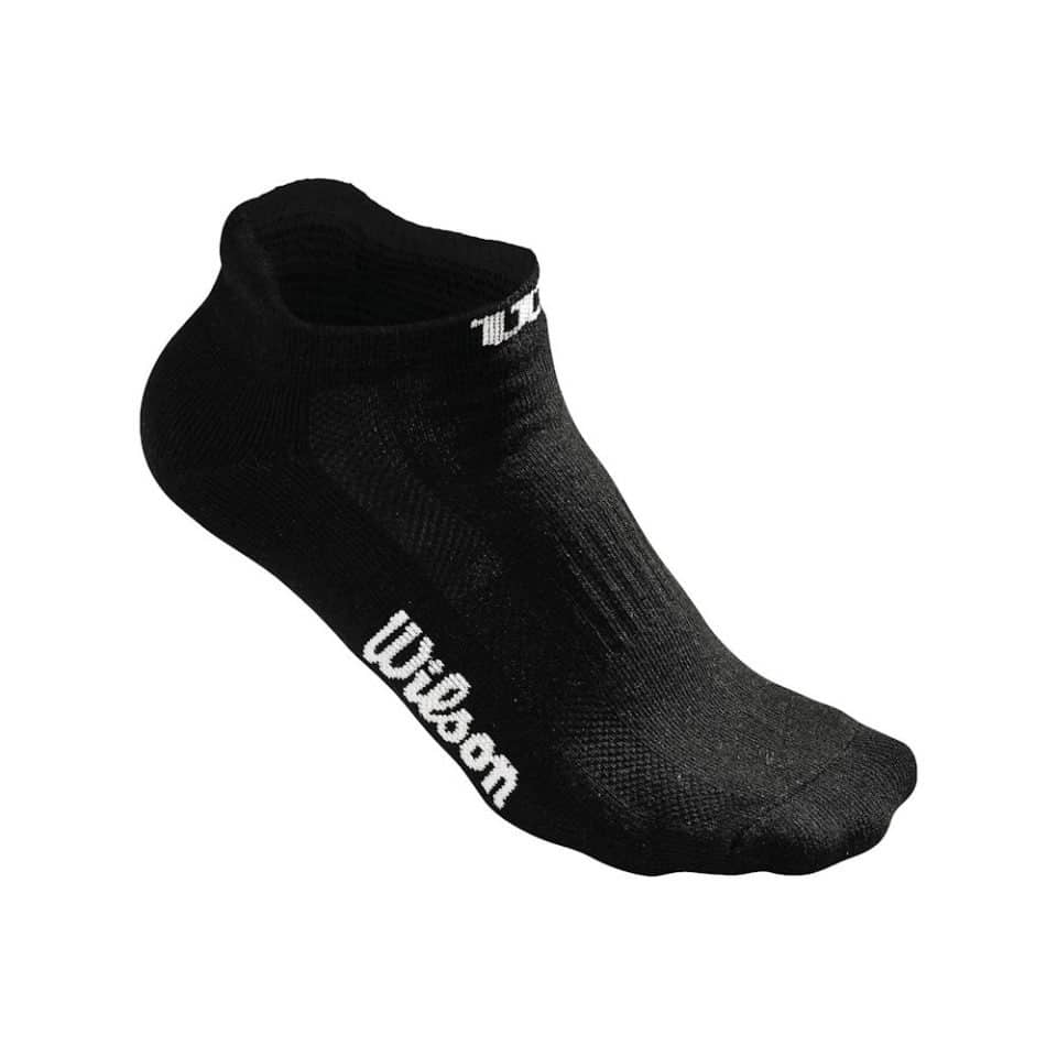 Wilson No Show Sock Black - Racketshop de Bataaf