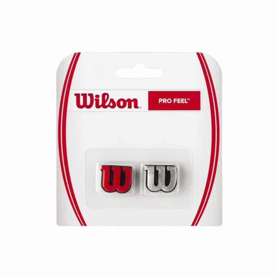 Wilson Pro Feel Red/Silver - Racketshop de Bataaf