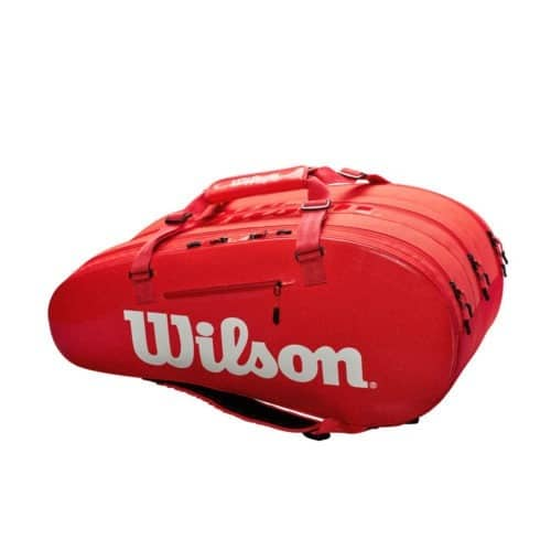 Wilson Super Tour 3 Comp Red - Racketshop de Bataaf