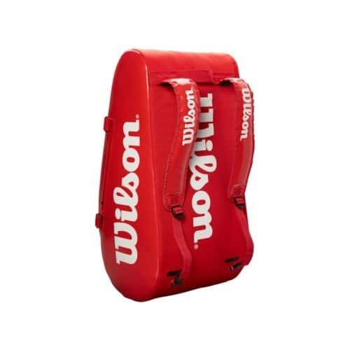 Wilson Super Tour 3 Comp Red - Racketshop de Bataaf
