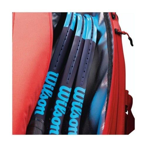 Wilson Super Tour 3 Comp Red detail - Racketshop de Bataaf