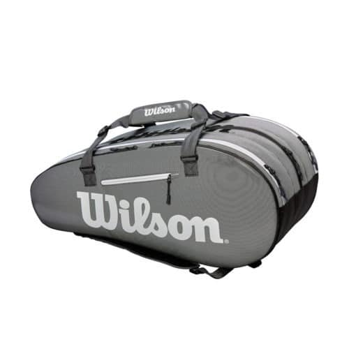 Wilson Super Tour 3 Comp Black/Grey - Racketshop de Bataaf