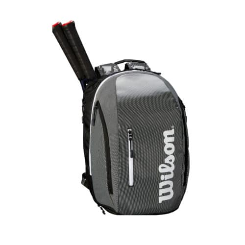 Wilson Super Tour Backpack BL/GR - Racketshop de Bataaf