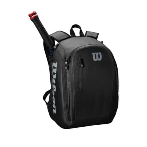 Wilson Tour Backpack Black/Grey - Racketshop de Bataaf