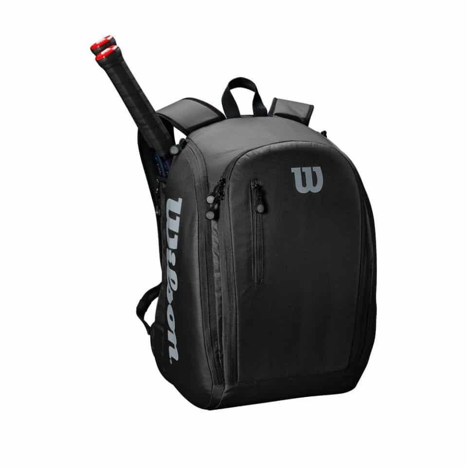 Wilson Tour Backpack Black/Grey - Racketshop de Bataaf