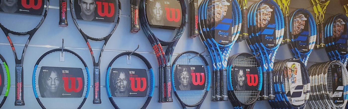 Racketshop de Bataaf - Specialist in tennisartikelen