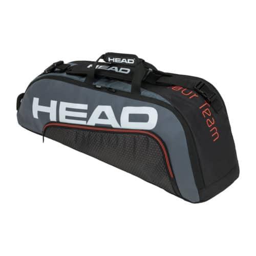 Head Tour Team 6R Combi black-grey - Racketshop de Bataaf