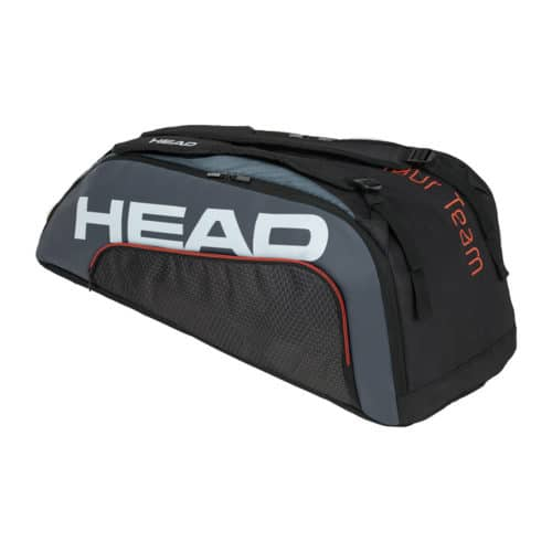 Head Tour Team 9R Supercombi black-grey - Racketshop de Bataaf