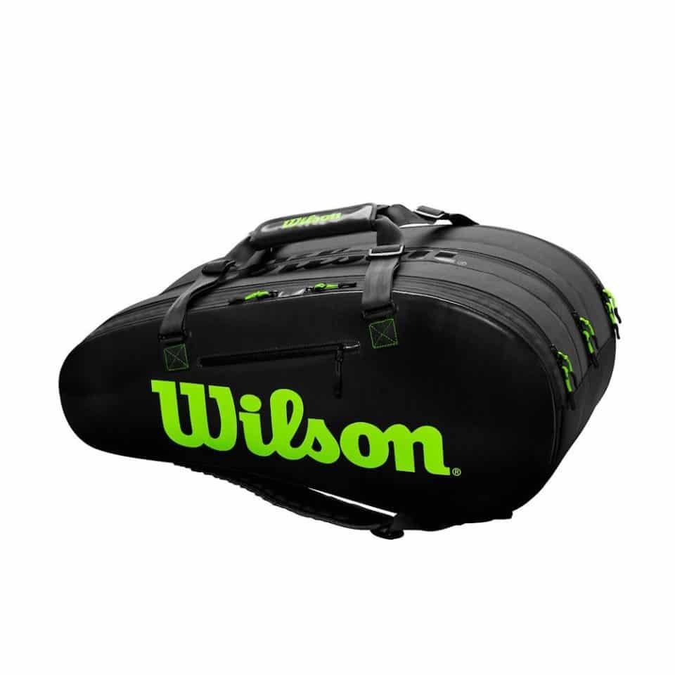 Wilson Super Tour 3 Comp BK/GR - Racketshop de Bataaf