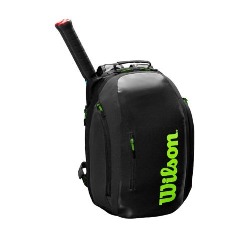 Wilson Super Tour Backpack BK/GR - Racketshop de Bataaf