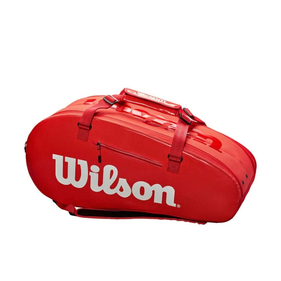 Wilson Super Tour 2 Comp Large Red - Racketshop de Bataaf