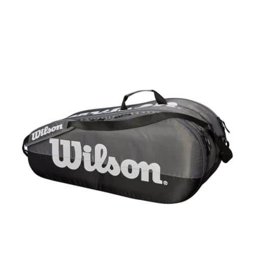 Wilson Team 2 Comp Grey/Black - Racketshop de Bataaf