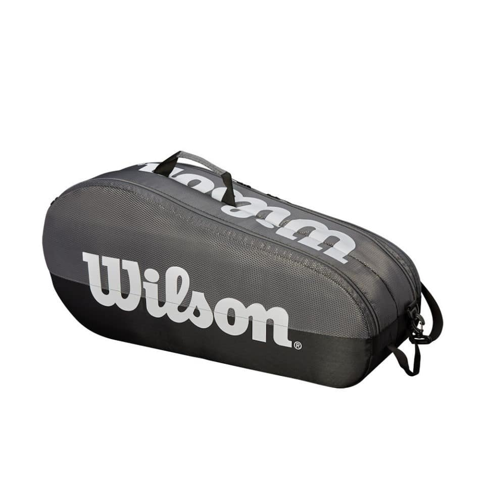 Wilson Team 2 Comp Grey/Black - Racketshop de Bataaf