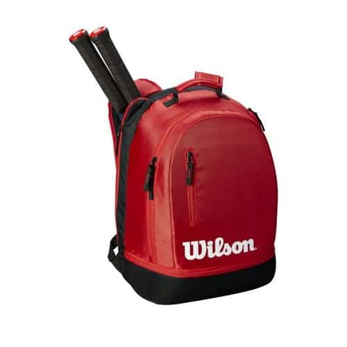 Wilson Team BackPack Black/Red - Racketshop de Bataaf