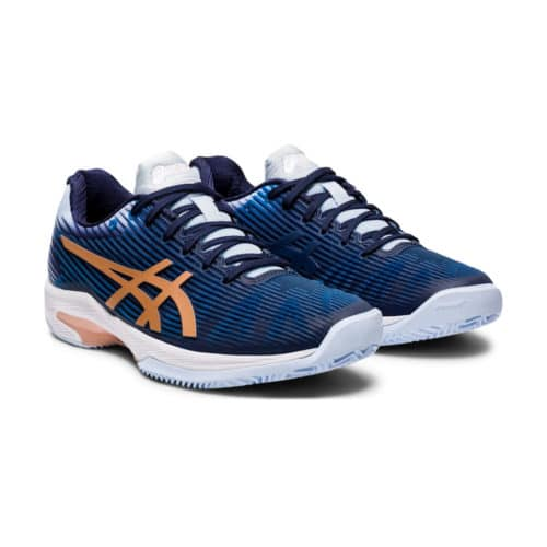 Asics Gel-Solution Speed FF Clay Peacoat/Rose Gold - Racketshop de Bataaf