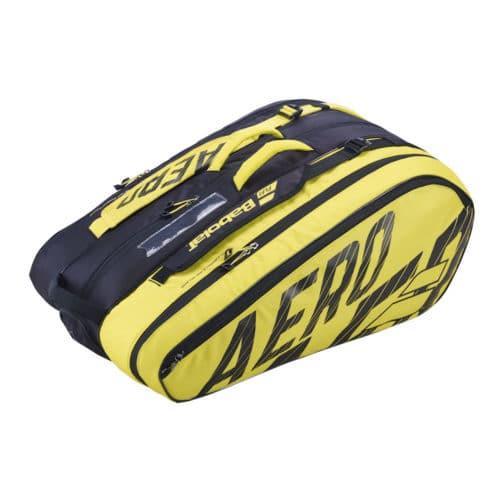 Babolat RH X12 Pure Aero Black/Yellow - Racketshop de Bataaf