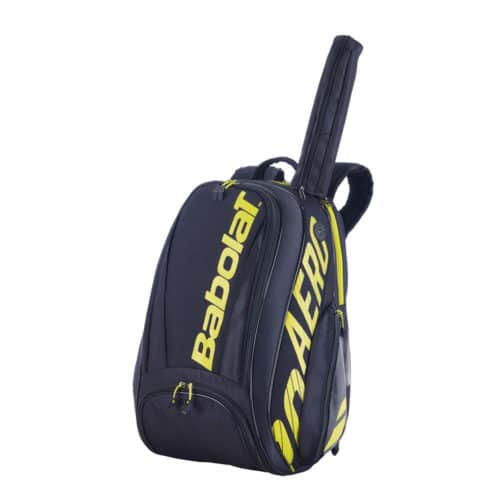 Babolat Backpack Pure Aero Black/Yellow - Racketshop de Bataaf