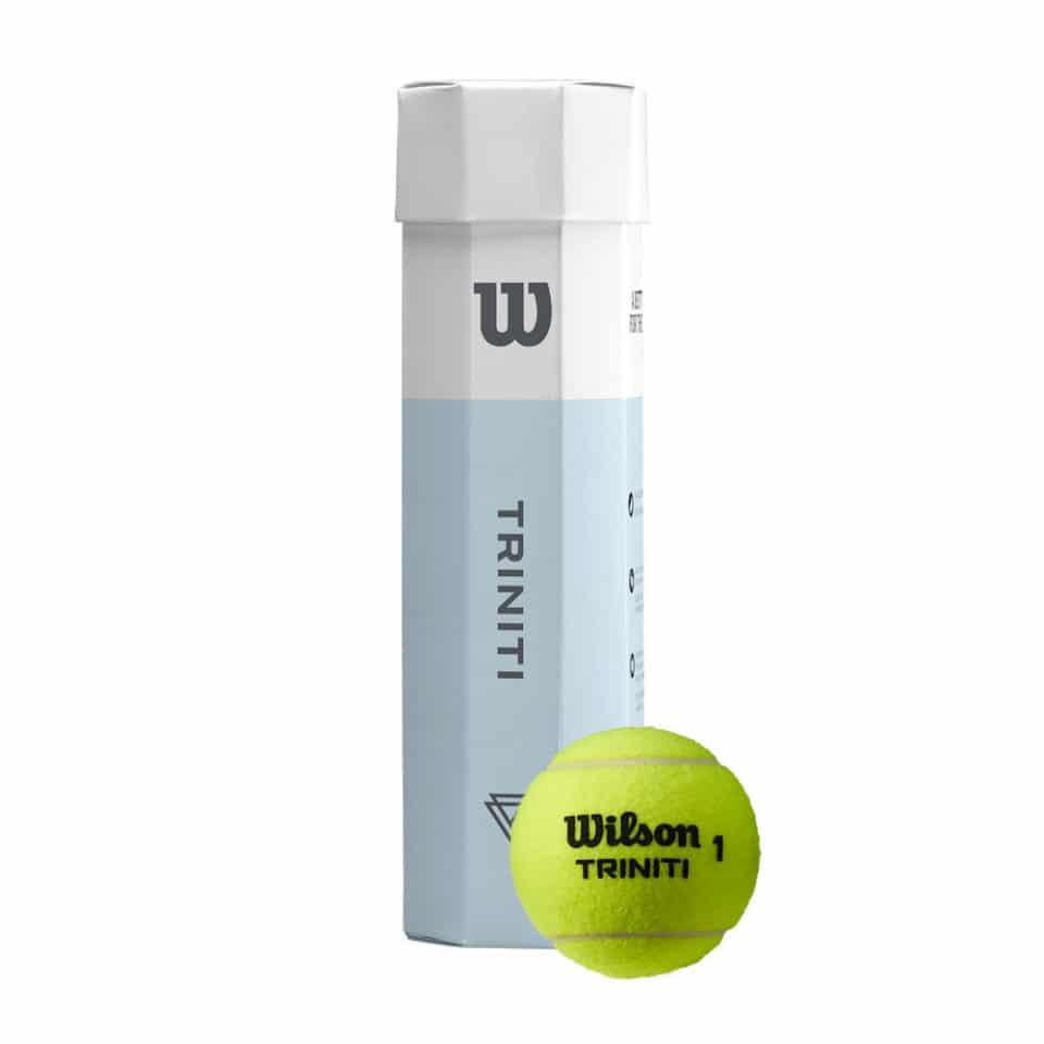 Wilson Triniti 4 bal/karton - Racketshop de Bataaf
