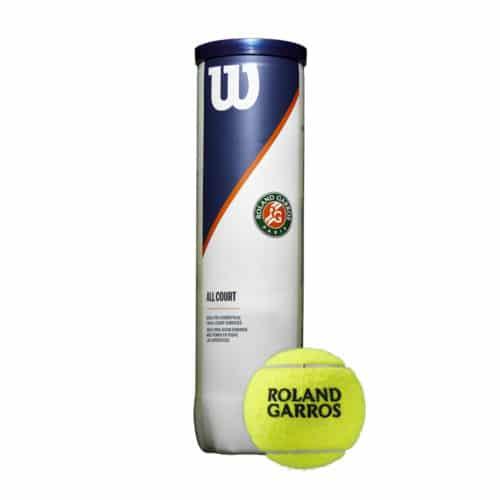 Wilson Roland Garros Allcourt 4 bal/tin - Racketshop de Bataaf